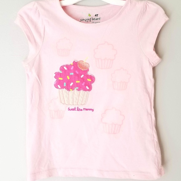 2c7c3b4c9 jumping beans Shirts & Tops | 4t Sweet Like Mommy Cupcake Tee | Poshmark